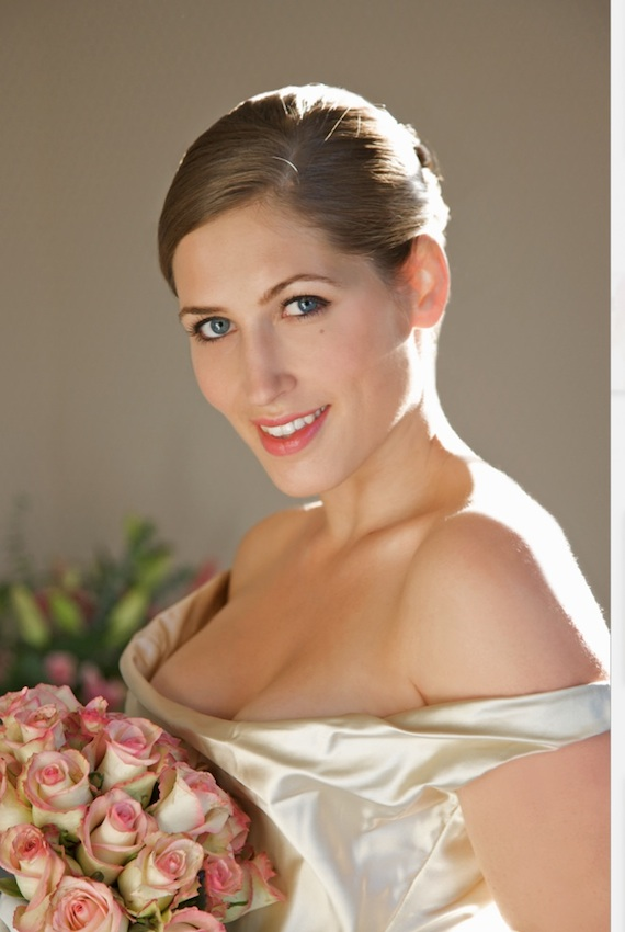 Bride make-over photography by Jutta Klee