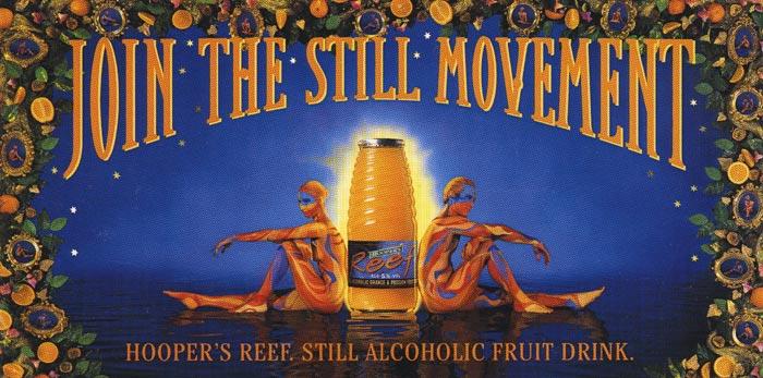 Hooper's reef advertising campaign