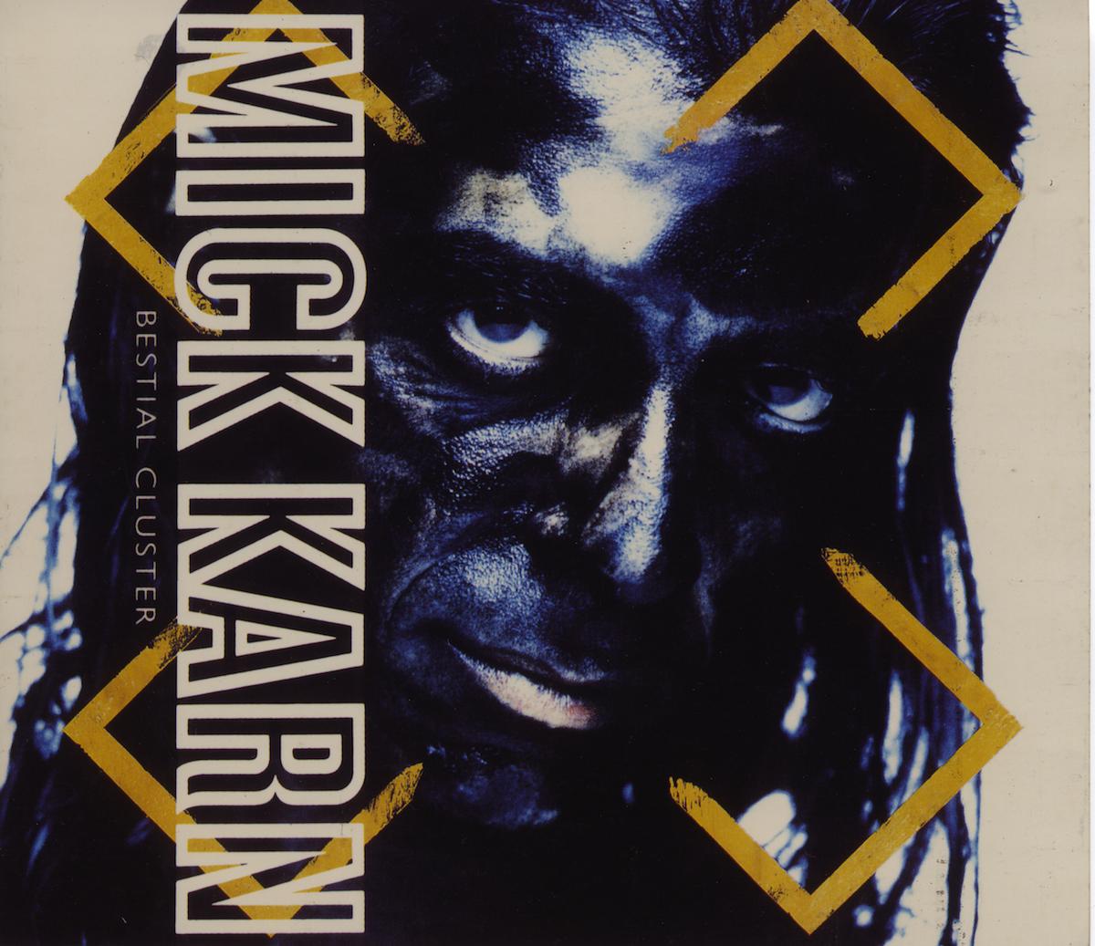 Mick Karn album cover photography by Simon Fuller