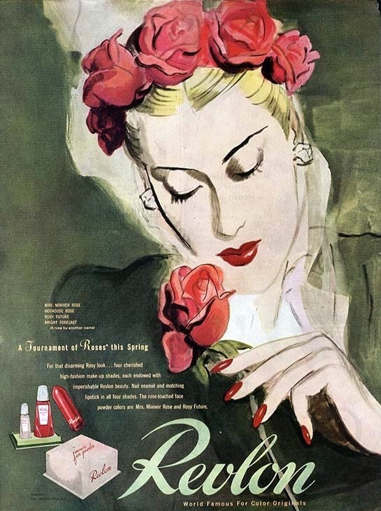 A Brief History Of Revlon Anne Marie Lepretre Make Up Artist