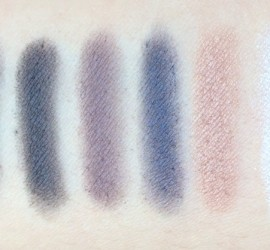 NYX Smokey Palette swatches
